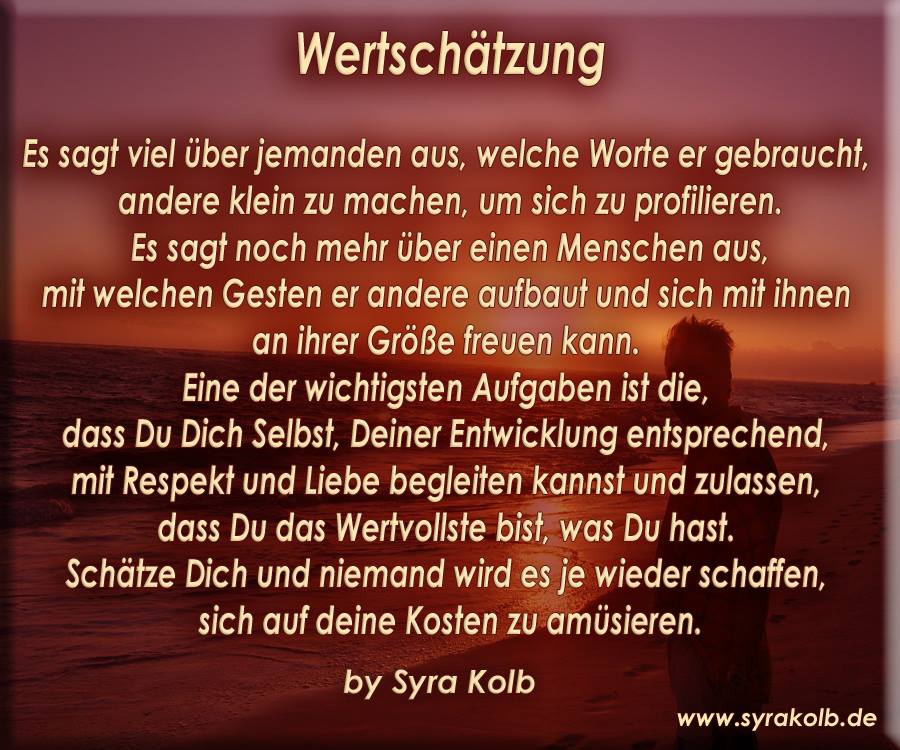 Wertschatzung Von Syra Kolb Herz Und Liebe
