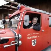 """Große Wertschätzung auch für die Feuerwehr und den Menschen die sich tag und Nacht für andere einsetzen """"foto: peter lechner/hbf"""""""
