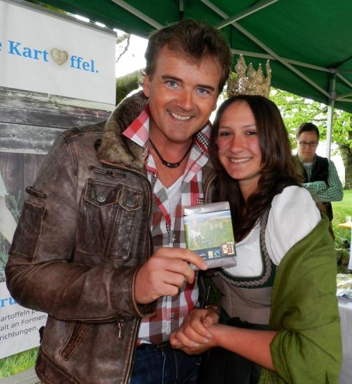 Rainer Kirsten ist nun ein großer Fan der Bio-Heu-Region