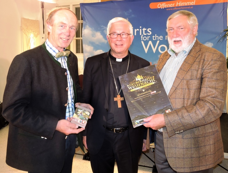 Keil Franz mit Erzbischof Franz Lackner und Franz Fischler