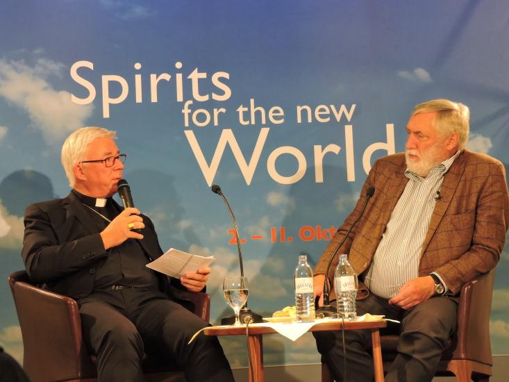 Dr. Franz Fischler beim Erzbischof Franz Lackner zu Gast