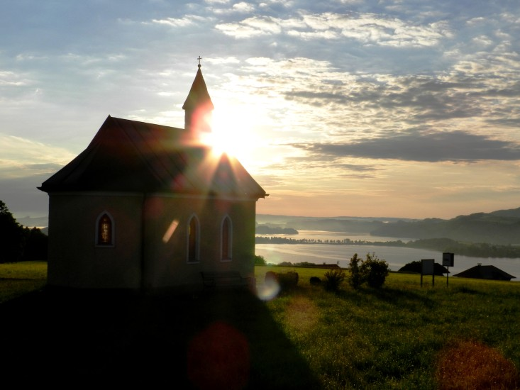 Eine Kapelle am Dürnberg, welche ich öfter mal besuche und mir viel Kraft gibt