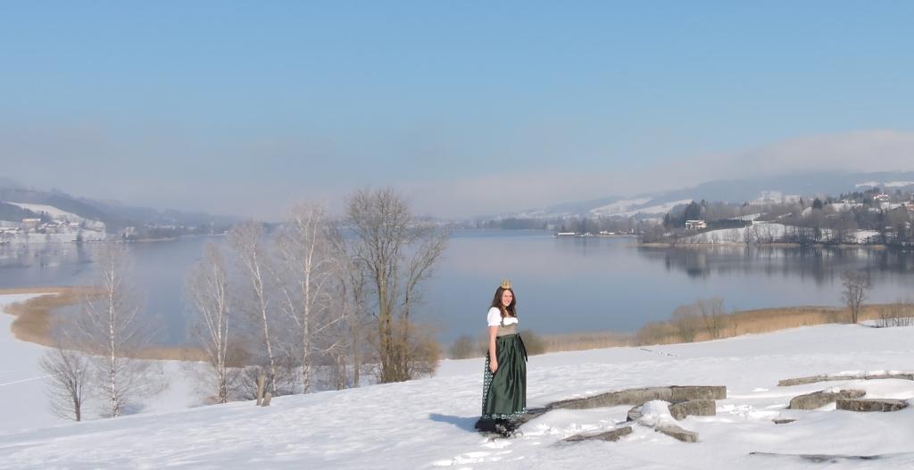 Bio-Heu-Region im Winter mit Königin Lorena (82)