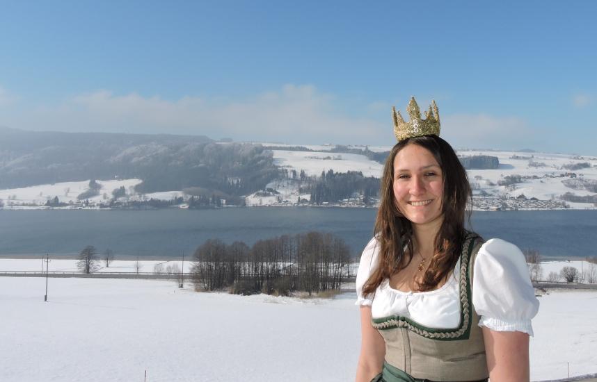 Bio-Heu-Region im Winter mit Königin Lorena (95)