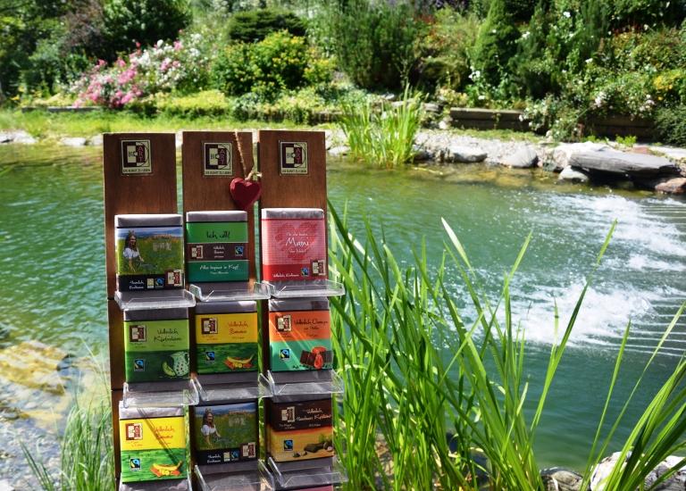 BioArt - Heumilchschokolade ist nicht nur Genuß, sondern auch sprudelnde Lebensfreude