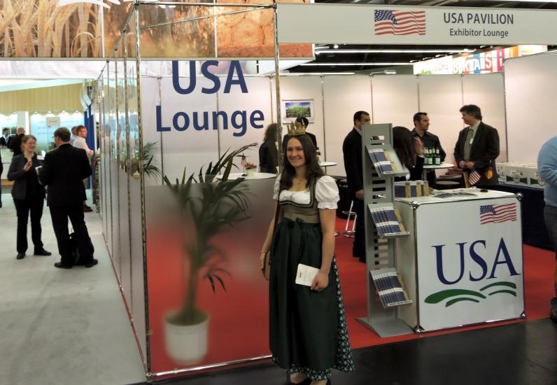 Biofach Nürnberg, Besuch in der USA Lounge