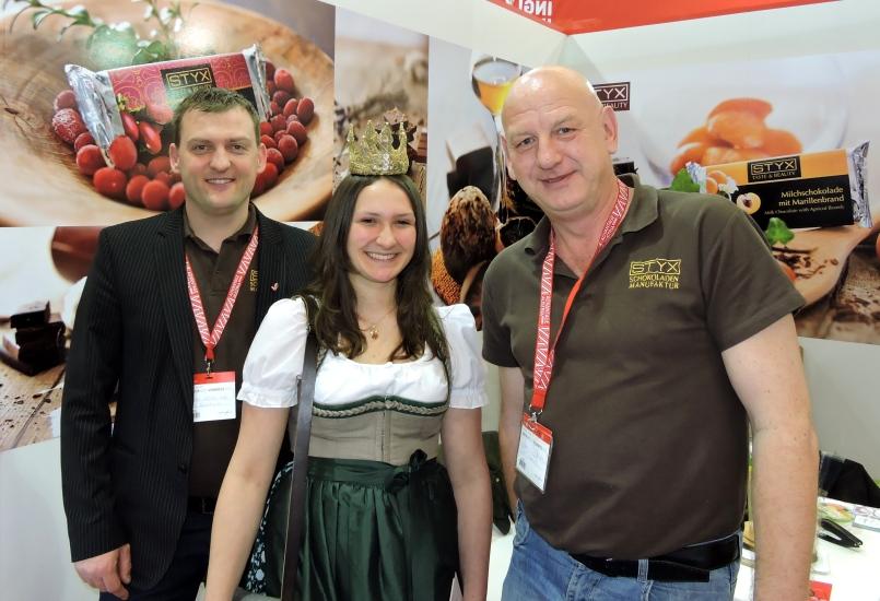 Biofach Nürnberg bei der Styx Schokoladenmanufaktur