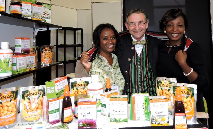 Biofach Nürnberg mit Karte Kibarah aus Nairobi in Kenia