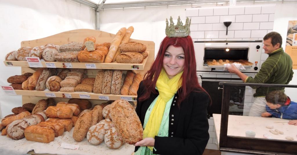 Bei den Biobäckern aus Salzburg gab es immer frisches Brot