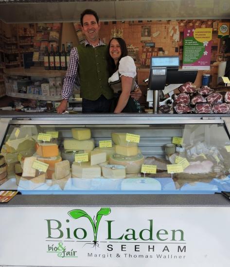Franz Wallner vom Bio Laden in Seeham hat immer wieder ganz besondere Köstlichkeiten dabei