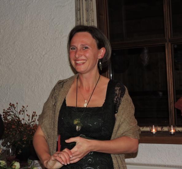 Monika Rosenstatter bei ihrer Buchpräsentation