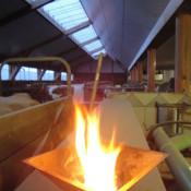 HOMA - Agnihotra Feuer am Kreisederhof