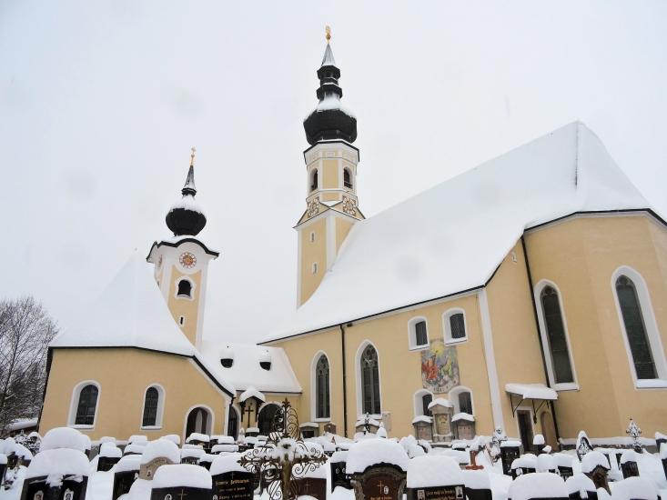 Die Kirche meiner Heimatgemeinde Berndorf
