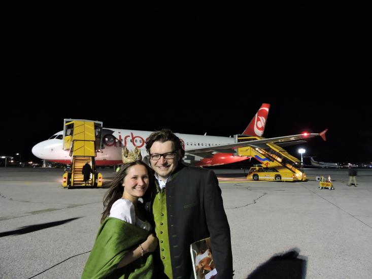 Grüne Woche Berlin 2015 mit Heukönigin Lorena