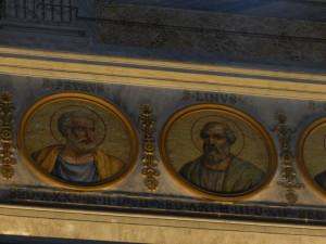 Petrus als erster Papst