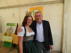 Biofest Salzburg mit Bürgermeister Heinz Schaden