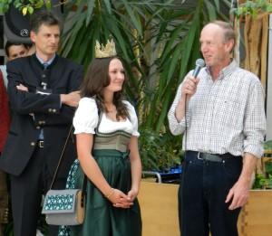 LWS Klesheim und Heukönigin Lorena