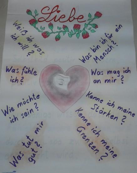 Liebe, Selbstliebe, Herz, Rosen, Dankbarkeit, Gefühle