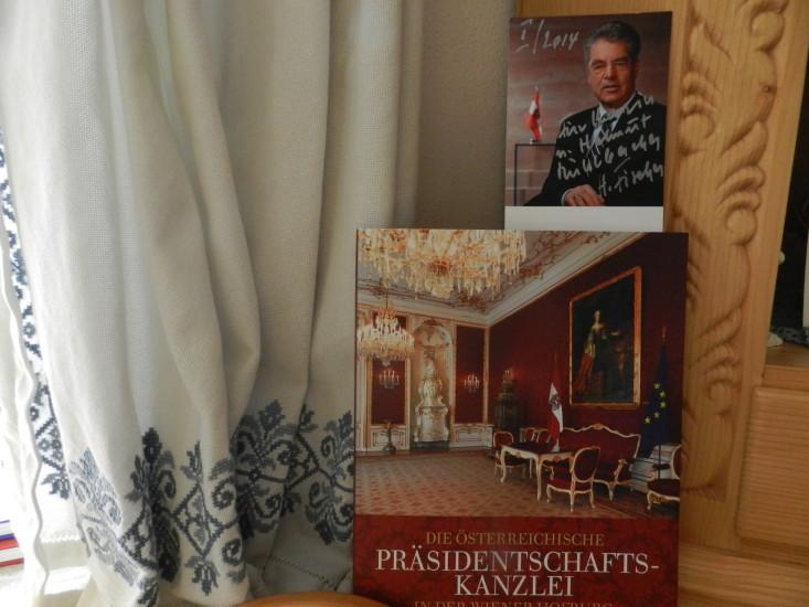 Das Gastgeschenk unseres Herrn Bundespräsidenten macht mir sehr große Freude.