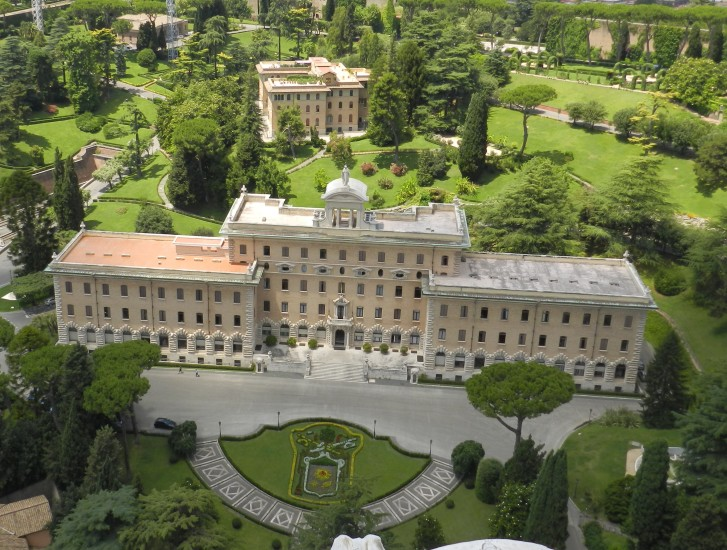 Ein kurzer Blick auf die Vatikangärten