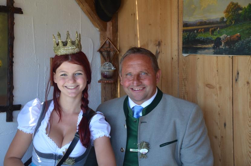 Erntedankfest Wien mit Neuhofer Karl und Maria Mühlbacher