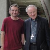 Der damalige Erzbischof von Salzburg Alois Kothgasser