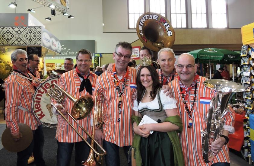 Grüne Woche Berlin 2015 mit Heukönigin Lorena 10
