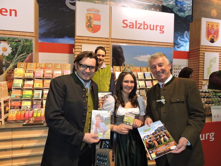 Grüne Woche Berlin 2015 mit Heukönigin Lorena 6