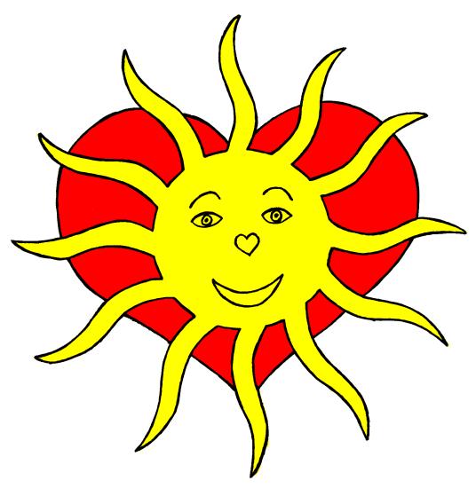 Lebensfreudetraining der Sonne im Herzen unter http://freude-im-leben.blogspot.co.at/