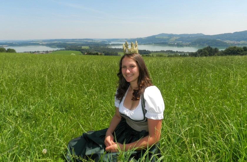 Heukönigin Lorena 3 Seenblick