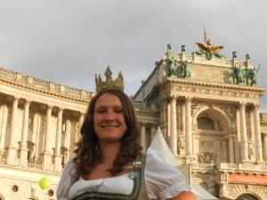 Heukönigin Lorena beim Erntedankfest in Wien 2014 Foto Helmut Mühlbacher (291)