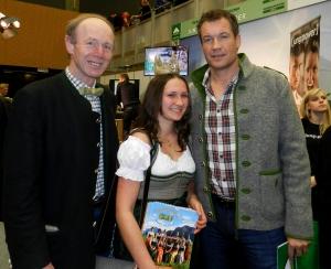 Lorena und Keil Franz hier mit Armin Assinger