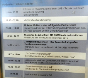 Heuköniginnen Kalender Präsentation auf Welser Messe 4
