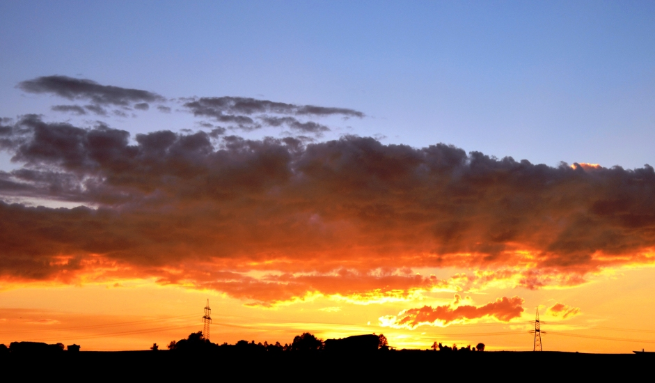 Himmelsleuchten in meiner Heimat Berndorf