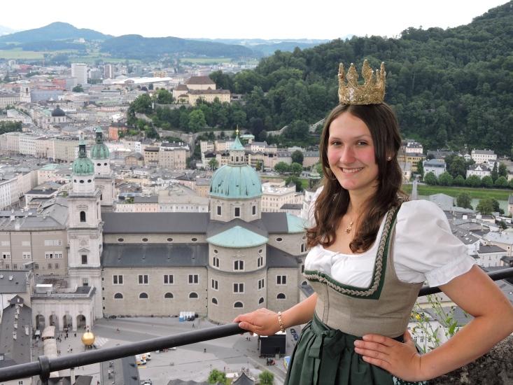 Ein Besuch auf der Festung Hohensalzburg durfte an diesem Tag natürlich nicht fehlen