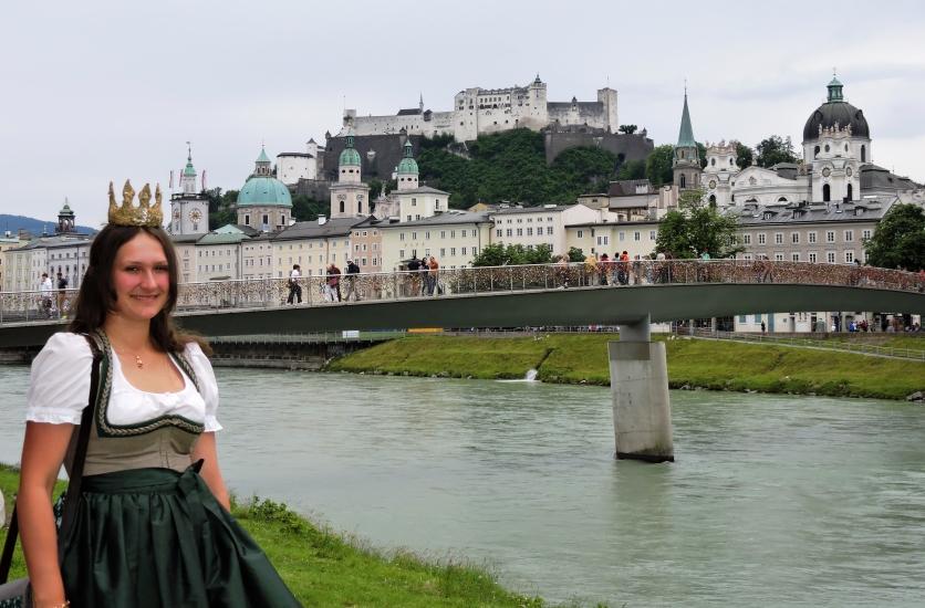 Königin besucht Salzburg
