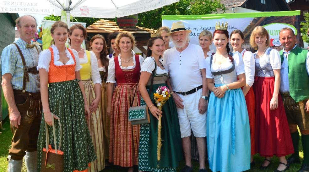 Ein Foto mit Karl Merkatz, einem der bekanntesten Schauspieler Österreichs.