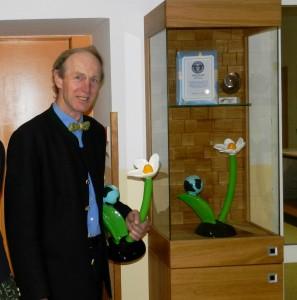 Unser Obmann Keil Franz mit dem Klimaschutzpreis 2012