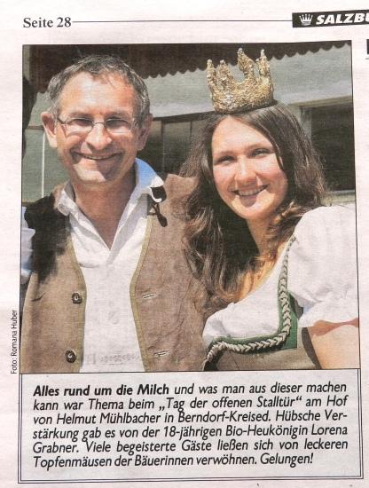 Kronen Zeitung - Tag der offenen Stalltür