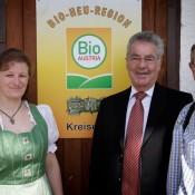Bio Heuregion, Bundespräsident Heinz Fischer
