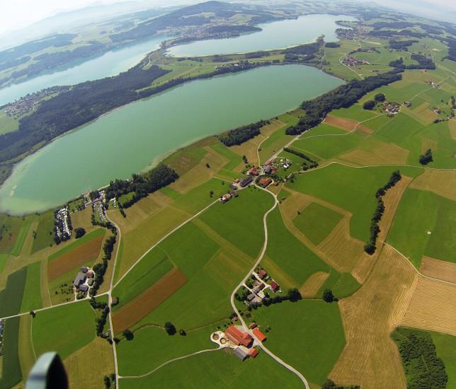 Luftaufnahme Kreised von Wolfgang Reichl www.reagieren.at