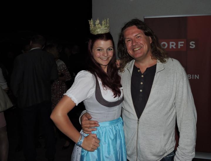 Manfred Kirchmeyer mit Maria