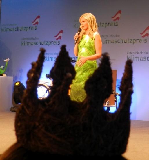 Moderatorin des Abends Claudia Reiterer