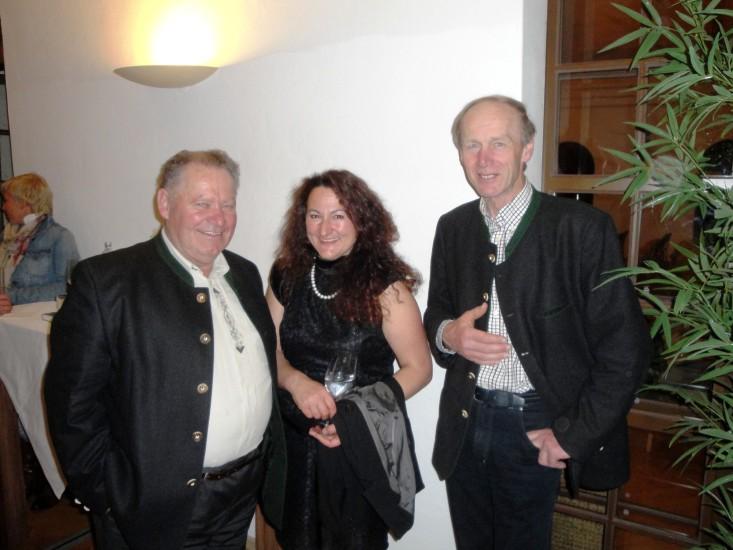 Latocha Franz, Marianne Grabner vom Roiderhof und Keil Franz