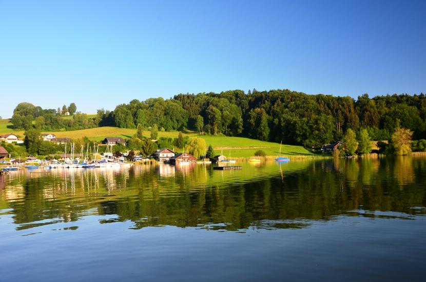 Morgenstimmung am Obertrummersee aufgenommen am 03.072015 um 06:56