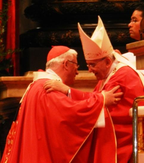 Papst Franziskus verleiht das Pallium an den Erzbischof von Salzburg Franz Lackner und ich durfte das fotografieren
