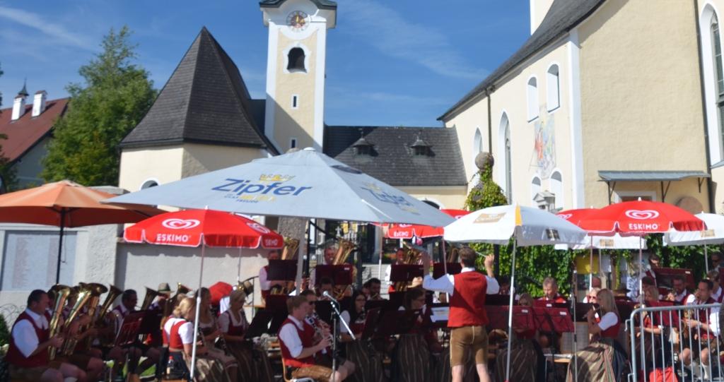 Wie immer ein Hörgenuss und eine Freude ist die Trachtenmusikkappele Berndorf.