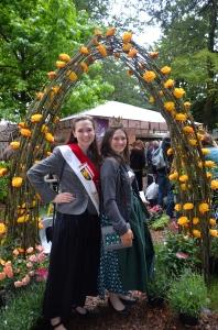 Die Königin aus der Bio-Heu-Region und die Milchkönigin Ingrid
