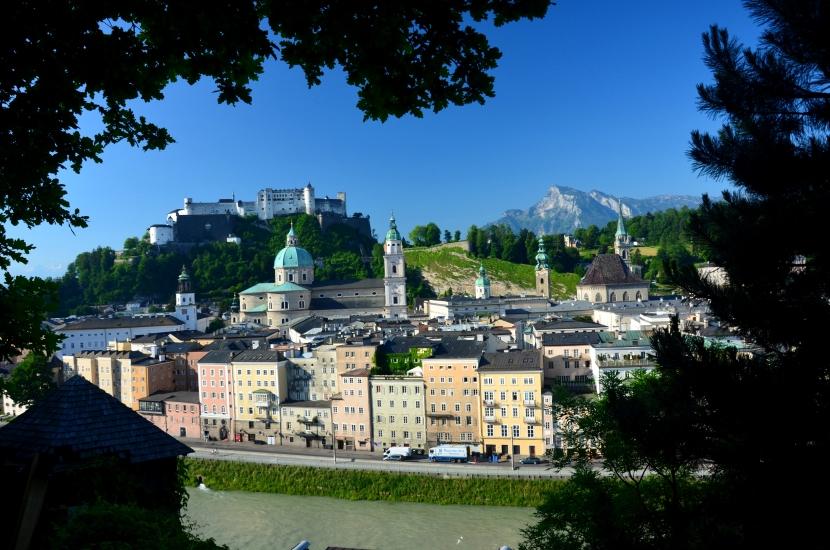 Salzburg einmal anders - fotografiert vom Kapuzinerberg