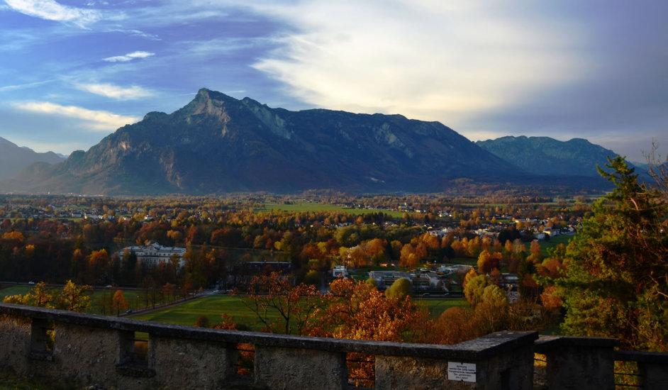 Salzburg Sonnenaufgang bei Richterhöhe 71